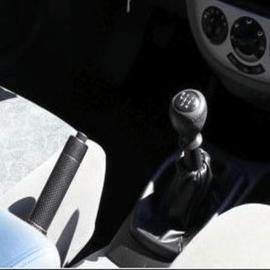 Chevrolet Lacetti - Echt leder pookhoes