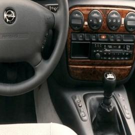 Opel Omega A - Echt leder pookhoes