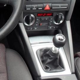 Audi A3 II 8P 2003-2008 - Echt leder pookhoes