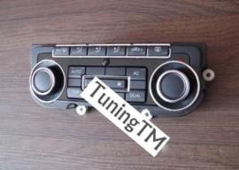 Volkswagen Golf 6 / Passat B7 CC / Tiguan / Caddy 3 / Touran / Eos / Jetta / Scirocco /  T5 / T6 / - Verchroomde aluminium kachel ringen