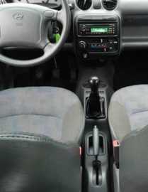 Hyundai Atos - Echt leder pookhoes