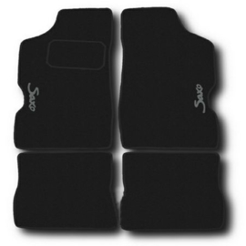 CLASSIC Velours automatten met logo Citroen Saxo
