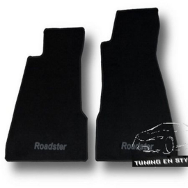 CLASSIC Velours automatten met logo Smart Roadster 2003-2005