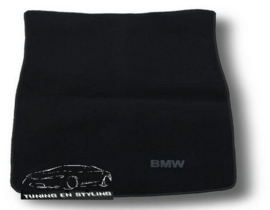 CLASSIC Velours Kofferbakmat BMW Serie 5 E39 Sedan 1996-2003