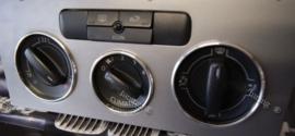 Volkswagen Golf 5 / Passat B6 / Touran - Verchroomde aluminium kachel ringen