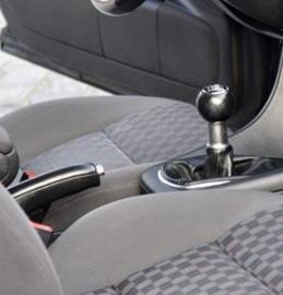 Audi A6 C5 FL - Echt leder pookhoes