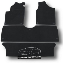 Classic Velours automatten Ford Galaxy I 1995-2005
