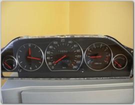 Volvo 760/940/960/S90/V70 - verchroomde  aluminium tellerringen