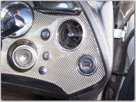 Toyota Supra 4 - verchroomde  aluminium ventilatieringen