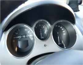 Seat Altea / Toledo III - Verchroomde aluminium Tellerringen