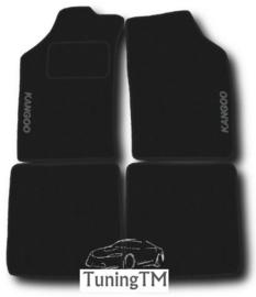 CLASSIC Velours automatten met logo Renault Kangoo I 1997-2007