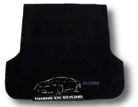 CLASSIC Velours Kofferbakmat met logo Honda Accord 7 wagon