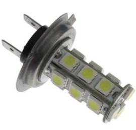 Wit licht LED Gloeilamp - H7 12V 18 SMD