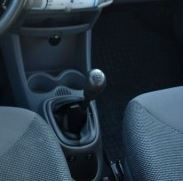 Peugeot 107 - Echt leder pookhoes