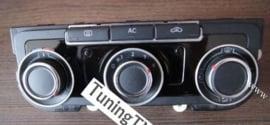 Volkswagen Golf 6 / Passat B7 CC / Tiguan / Caddy 3 / Touran / Eos / Jetta / Scirocco /  T5 / T6 / - Verchroomde aluminium kachel ringen (3st.)