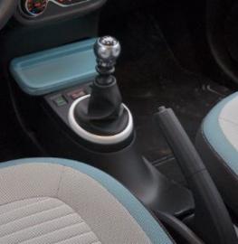 Renault Twingo 3 - Echt leder pookhoes