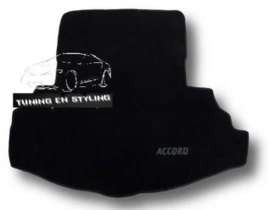 CLASSIC Velours Kofferbakmat met logo Honda Accord 7 Sedan
