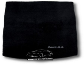 CLASSIC Velours Kofferbakmat  Audi A4 B7 Sedan