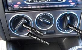 Volkswagen Golf 4 - Verchroomde aluminium kachel ringen