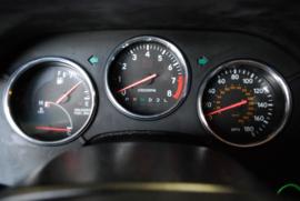 Toyota Supra 4 - Verchroomde aluminium Tellerringen
