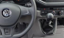 Volkswagen Crafter II 2016- - Echt leder pookhoes