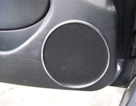 BMW E46 sedan- Verchroomde aluminium speakerringen