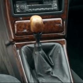Lancia Kappa - Echt leder pookhoes
