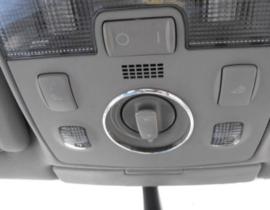 Audi A3 8L - Verchroomde aluminium zonnedak ring