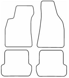 Rubber automatten Citroen C4 Picasso I 2006-2013