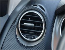 Seat Altea / Toledo III / Leon II - Verchroomde aluminium ventilatieringen