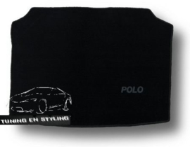 CLASSIC Velours Kofferbakmat  Volkswagen Polo 4 2001-2009