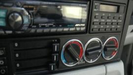 BMW E34 - Verchroomde aluminium kachel ringen