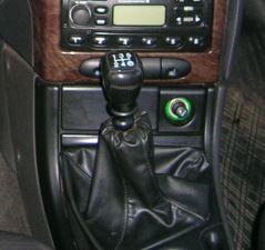 Ford Mondeo Mk1 Mk2 - Echt leder pookhoes