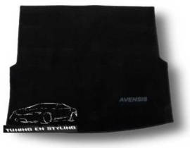 CLASSIC Velours Kofferbakmat Toyota Avensis III wagon 2009-