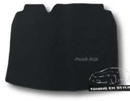 CLASSIC Velours Kofferbakmat Audi A3 8P HB