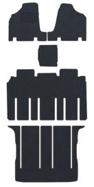 CLASSIC Velours automatten met logo Kia Carnival 2006-2014