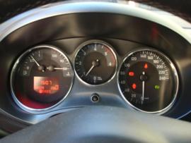 Seat Leon II 2005-2012 - Verchroomde aluminium Tellerringen