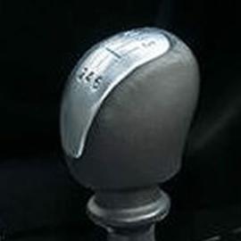 Renault Laguna 3 - Echt leder pookknophoes (kort)