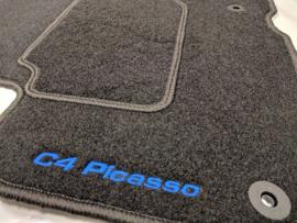 CLASSIC Velours automatten met logo Citroen C4 Picasso II 2013-
