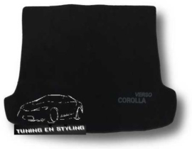 CLASSIC Velours Kofferbakmat Toyota Corolla Verso 2004-2009