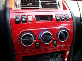 Fiat Coupe - Verchroomde aluminium Kachel ringen (dezelfde grootte)