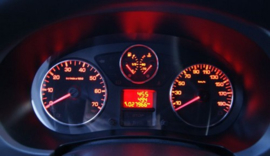 Peugeot Partner / Berlingo - Verchroomde aluminium Tellerringen
