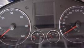 Volkswagen Golf 5 / Tiguan / Touran - Verchroomde  aluminium tellerringen