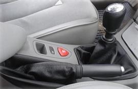 Renault Laguna 2 - Echt leder handremhoes