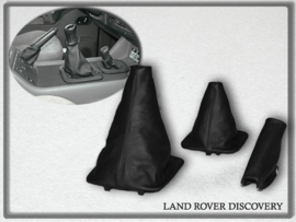 Land Rover Discovery 1992-2004 - Echt leder handremhoes