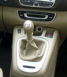 Renault Scenic 3 - Echt leder pookhoes