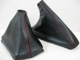 Renault Megane 2 - Echt leder handremhoes