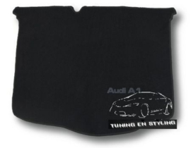 CLASSIC Velours Kofferbakmat Audi A1