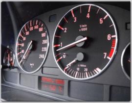 BMW E38 - Verchroomde aluminium Tellerringen
