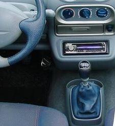 Renault Twingo 1 - Echt leder pookhoes